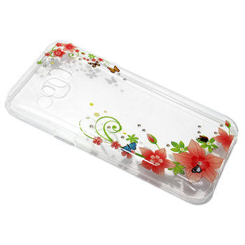 Samsung J5 Diamond Flower silikonska futrola DZ007