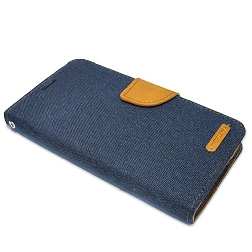 Samsung J5 Bi Fold Mercury Canvas futrola (Blue)