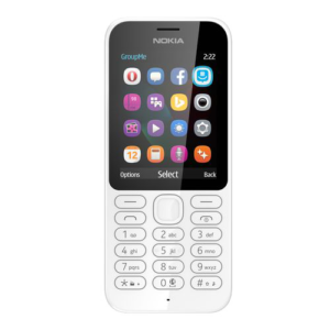 NOKIA 222 Dual SIM (White)