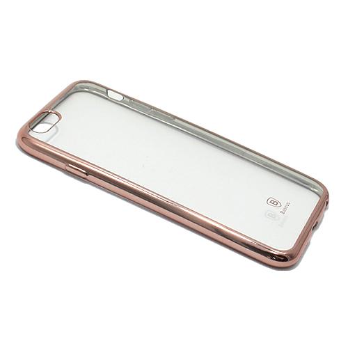 Silikonska futrola Baseus Shining – iPhone 6  daje Vašem mobilnom telefonu noviji i elegantniji izgled, štiti ga od grebanja, prašine, apsorbuje udarce i padove. Napravljena je od izuzetno kvalitetnog i otpornog materijala. Specijalno je urađena za svaki model telefona tako da telefon normalno možete koristiti bez skidanja maske, savršeno prijanja uz telefon pružajući jednostavan pristup kontrolama i otvorima za slušalice, punjač, kameru, zvučnik…
