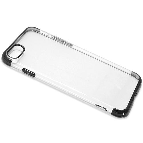 Silikonska futrola Baseus Glitter - iPhone 8 Plus  daje Vašem mobilnom telefonu noviji i elegantniji izgled, štiti ga od grebanja, prašine, apsorbuje udarce i padove. Napravljena je od izuzetno kvalitetnog i otpornog materijala. Specijalno je urađena za svaki model telefona tako da telefon normalno možete koristiti bez skidanja maske, savršeno prijanja uz telefon pružajući jednostavan pristup kontrolama i otvorima za slušalice, punjač, kameru, zvučnik...