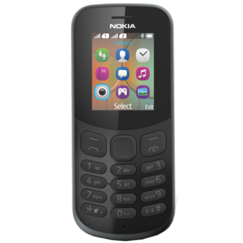 Nokia 130 New 2017 Dual Sim (Black)