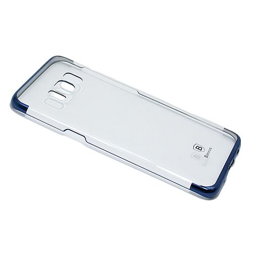 Silikonska futrola Baseus Glitter - Samsung S8 G950  daje Vašem mobilnom telefonu noviji i elegantniji izgled, štiti ga od grebanja, prašine, apsorbuje udarce i padove. Napravljena je od izuzetno kvalitetnog i otpornog materijala. Specijalno je urađena za svaki model telefona tako da telefon normalno možete koristiti bez skidanja maske, savršeno prijanja uz telefon pružajući jednostavan pristup kontrolama i otvorima za slušalice, punjač, kameru, zvučnik...