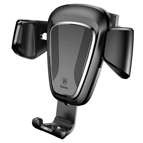 Baseus Gravity drža? za mobilni telefon (Black) Montira se na rešetki ventilacije Rotacija 360 stepeni. Pogodna širina telefona od 63mm do 88mm, pogodna debljina telefona od 10mm. (4.0 do 6.0 incha. ) Automatsko stezanje telefona. Link proizvo?a?a