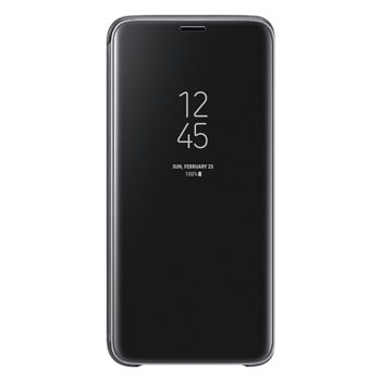 Samsung S9 Clear View futrola (Black)