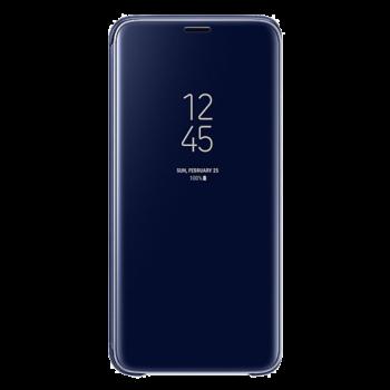 Samsung S9 Clear View futrola (Blue)