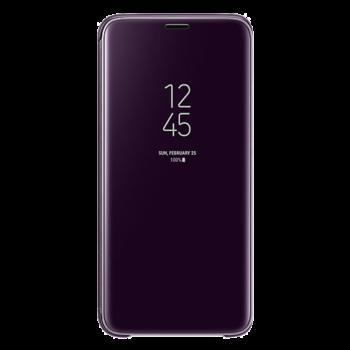 Samsung S9 Clear View futrola (Purple)