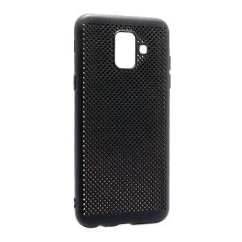 Samsung A6 A600 Breath silikonska futrola (Black)
