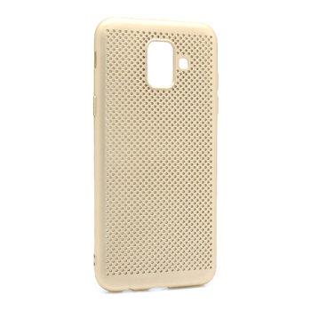 Samsung A6 A600 Breath silikonska futrola (Gold)