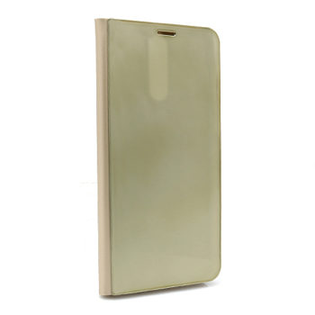 Huawei Mate 10 Lite Clear view futrola (Gold)