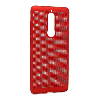 Nokia 5.1 PVC Breath futrola (Red)