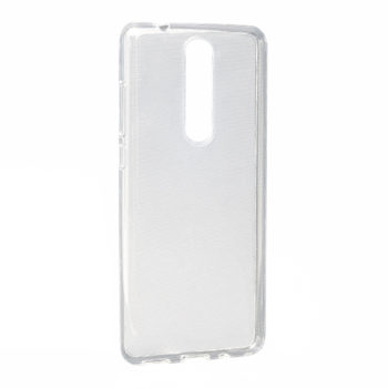 Nokia 5.1 silikonska futrola (Transparent)