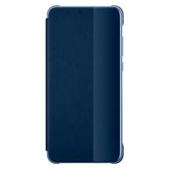 Huawei P20 originalna futrola na preklop (Blue)