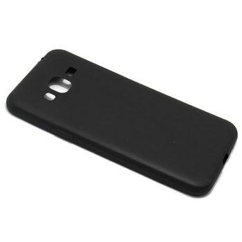 Samsung J3 2016 ultra tanka kolor silikonska futrola (Black)