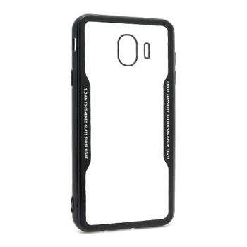 Samsung J4 2018 Back Clear futrola (Black)