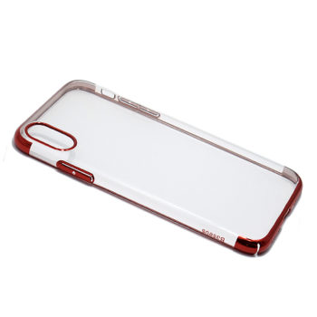 iPhone XS Baseus Glitter silikonska futrola (Red)