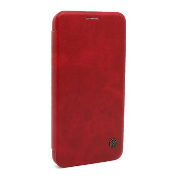 iPhone XS Max Nillkin Qin futrola na preklop (Red)
