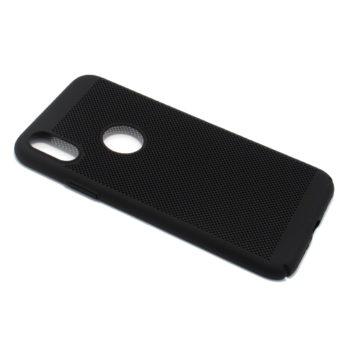 iPhone XS PVC Breath futrola (Black)