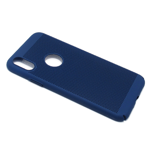 iPhone XS PVC Breath futrola (Blue)