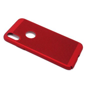 iPhone XS PVC Breath futrola (Red)