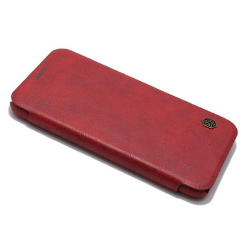 iPhone XS Nillkin Qin futrola na preklop (Red)